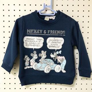 Disney - 【新品タグ付】80cm MICKEY&FRIENDS トレーナー