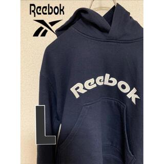リーボック(Reebok)の【古着】リーボックビックロゴ 90,sファッション(パーカー)