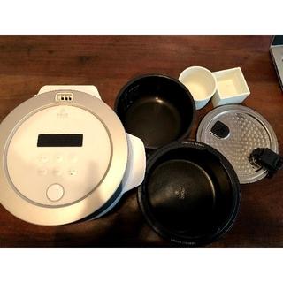 バルミューダ(BALMUDA)のバルミューダ 炊飯器 白(炊飯器)