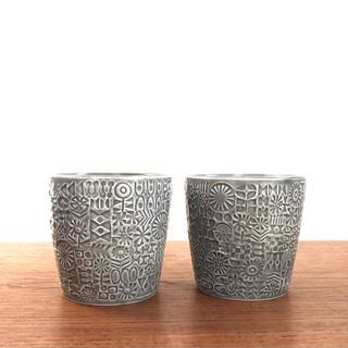 イデー(IDEE)のバーズワーズ フリーカップ 2個セット(グラス/カップ)