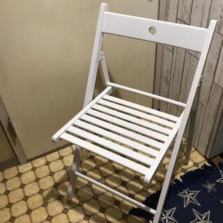 イケア(IKEA)の【yuki様専用】【折り畳みイス】イケアTRAJE(折り畳みイス)