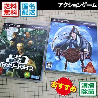 プレイステーション3(PlayStation3)のバイナリードメイン/ベヨネッタ(PS3)(家庭用ゲームソフト)