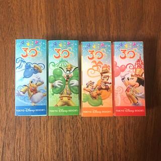 ディズニー(Disney)のディズニー カドケシ 消しゴム 4個セット(消しゴム/修正テープ)