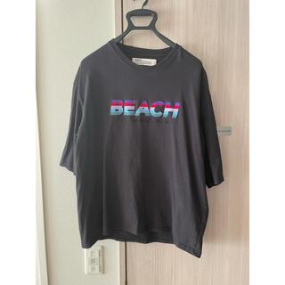サンシー(SUNSEA)のDAIRIKU 20ss BEACH  Tee(Tシャツ/カットソー(半袖/袖なし))