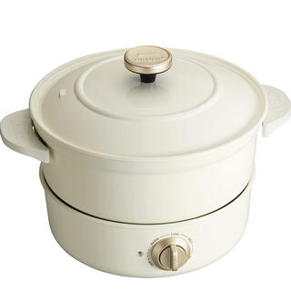 イデアインターナショナル(I.D.E.A international)の新品未使用 ブルーノ グリルポット BRUNO(調理機器)