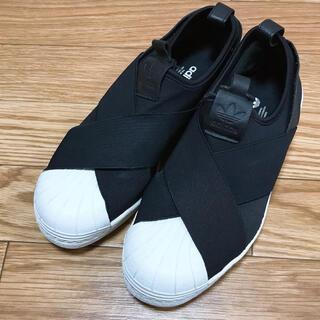 アディダス(adidas)のadidas♡スーパースター スリッポン(スリッポン/モカシン)