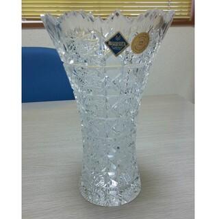 ボヘミア クリスタル(BOHEMIA Cristal)のラスカボヘミア Maia(マイア) 花瓶 MA-803(花瓶)