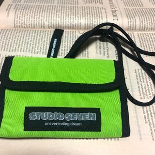 ジーユー(GU)のSTUDIO SEVEN ミニ財布(折り財布)