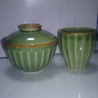 ジェンガラ(Jenggala)のジェンガラケラミック 茶碗  コップ平皿セットチー様専用(食器)