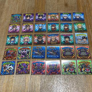 ビックリマンシール エヴァネロン第13号機 魔肖【シークレット】含む30枚セット(カード)
