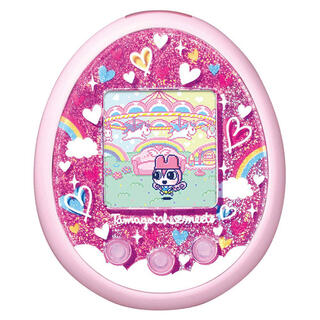 バンダイ(BANDAI)のたまごっちみーつ メルヘンみーつver. ピンク(携帯用ゲーム機本体)
