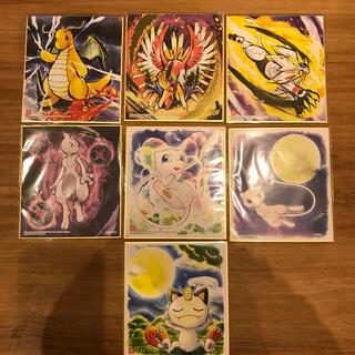 ポケモン(ポケモン)のポケモン 色紙 7種類セット(キャラクターグッズ)
