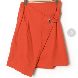 セリーヌ(celine)のCELINE♥️セリーヌ 正規品 アシンメトリー 巻きスカート風リングスカート(ひざ丈スカート)