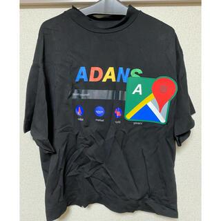 ジエダ(Jieda)のADANS アダンス Tシャツ(Tシャツ/カットソー(半袖/袖なし))