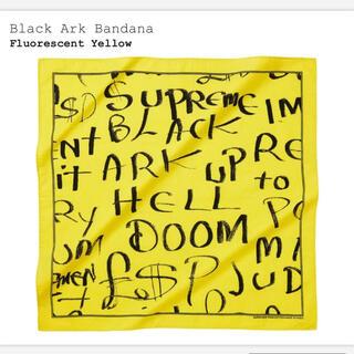 シュプリーム(Supreme)の★新品/未使用★ SUPREME Black Ark Bandana バンダナ(バンダナ/スカーフ)