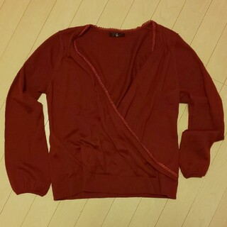 ベルメゾン(ベルメゾン)のXLサイズ カシュクールセーター (ニット/セーター)