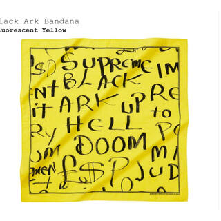 シュプリーム(Supreme)のSupreme Black Ark Bandana(バンダナ/スカーフ)