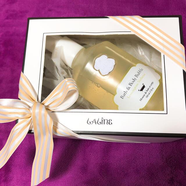 Laline(ラリン)のLaline Bath&Body Bubble(レモングラスバーベナ)500ml コスメ/美容のボディケア(ボディソープ/石鹸)の商品写真