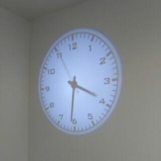 フランフラン(Francfranc)のプロジェクションクロック(掛時計/柱時計)