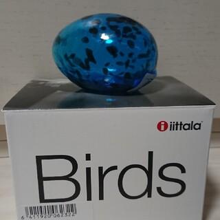 イッタラ(iittala)のAno egg 80x50mm turquoise(彫刻/オブジェ)