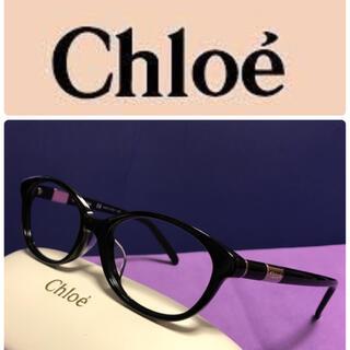 クロエ(Chloe)のクロエ メガネ ☆ 人気の黒縁メガネ ☆(サングラス/メガネ)