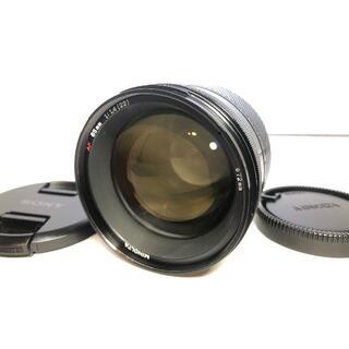 コニカミノルタ(KONICA MINOLTA)のミノルタ MINOLTA AF 85mm F1.4(レンズ(単焦点))
