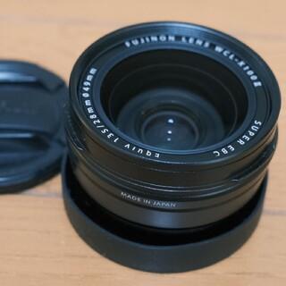 フジフイルム(富士フイルム)のWCL-X100II_x100シリーズワイコンブラック、富士フイルム(コンパクトデジタルカメラ)