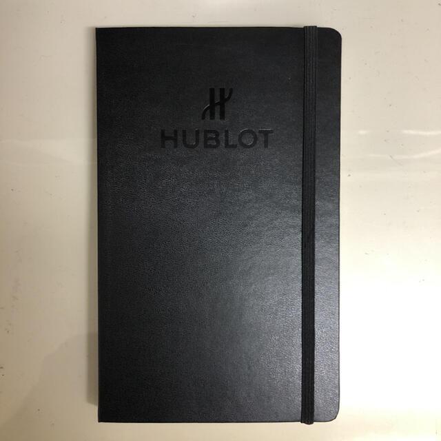 HUBLOT(ウブロ)の新品未使用 HUBLOT ウブロノート 非売品 エンタメ/ホビーのコレクション(ノベルティグッズ)の商品写真