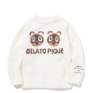 gelato pique - 【あつまれ どうぶつの森】つぶまめジャガード kids プルオーバー