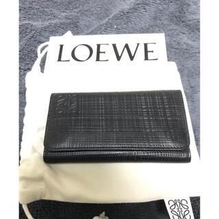 ロエベ(LOEWE)のLOEWE キーケース 6連 黒(キーケース)