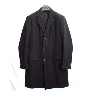 Jil Sander - [美品] ジルサンダー JIL SANDER 高級素材 チェスターコート 黒