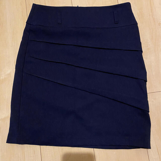 ☆ ミニスカート 膝上 紺 タイトスカート キャバ(ミニスカート)