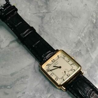 シチズン(CITIZEN)の日本製 昭和レトロ シチズン 三針時計 稼働中(腕時計)
