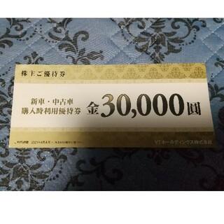 VTホールディングス 株主優待 30000円(その他)