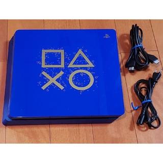 プレイステーション4(PlayStation4)のPS4 本体 500GB CUH-2100 デイズ オブ プレイ プレステ4(家庭用ゲーム機本体)