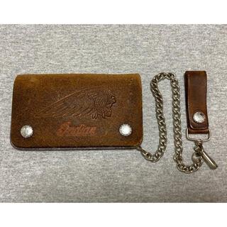 ハーレーダビッドソン(Harley Davidson)のインディアン バイカーウォレット Indian  wallet  財布 ハーレー(折り財布)