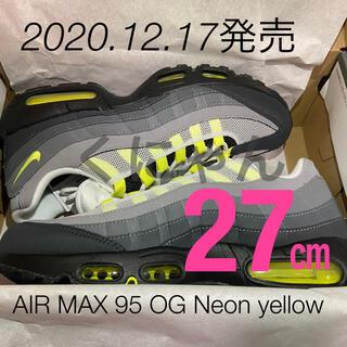 ナイキ(NIKE)のNIKE AIR MAX 95 OG Neon yellow /ネオン イエロー(スニーカー)