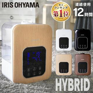 アイリスオーヤマ - 新品未使用 アイリスオーヤマ ハイブリッド式加湿器 PH-UH35-W ホワイト