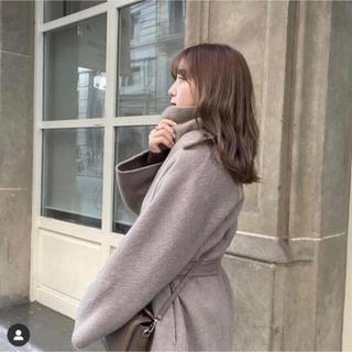 Mila Owen - 【最終値下げ】amel サイドスリットガウンコート