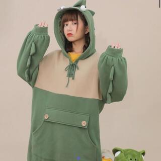 セブンティーン(SEVENTEEN)の恐竜パーカー 可愛い 韓国(パーカー)