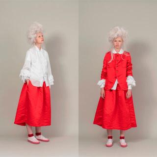 コムデギャルソン(COMME des GARCONS)の2020aw コムデギャルソンガール スカート 赤 レッド(ひざ丈スカート)