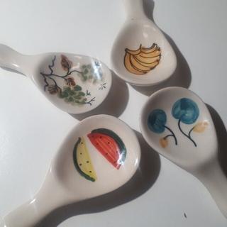 ベトナム雑貨 箸置きキュートなフルーツデザイン(カトラリー/箸)