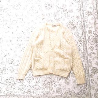 サンタモニカ(Santa Monica)のcable knit cardigan(カーディガン)