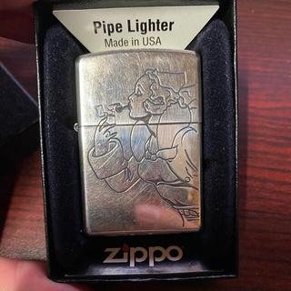 ジッポー(ZIPPO)のzippo ジッポー ウィンディ パイプ用ジッポー レア シルバー (タバコグッズ)