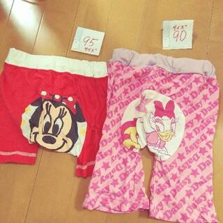 ディズニー(Disney)の90、95サイズ モンパ 2枚組セット Disney(パンツ/スパッツ)