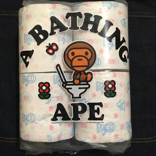 アベイシングエイプ(A BATHING APE)のA BATHING APE エイプ トイレットペーパー 希少(その他)