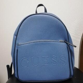 ゲス(GUESS)のGUESS バックパック リュック  ブルー 水色(リュック/バックパック)