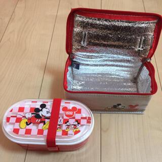 ミッキーマウス(ミッキーマウス)のミッキー☆バッグ入り2段ランチボックス(弁当用品)
