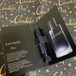 ディオール(Dior)のディオール  香水  ソヴァージュ 1mL サンプル 新品未使用品(その他)