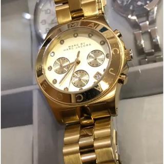 マークバイマークジェイコブス(MARC BY MARC JACOBS)のMARC BY MARC JACOBS ゴールドMBM3101(腕時計)